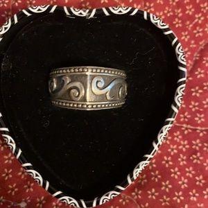 Brighton Silver-Tone Ring & Ring Tin